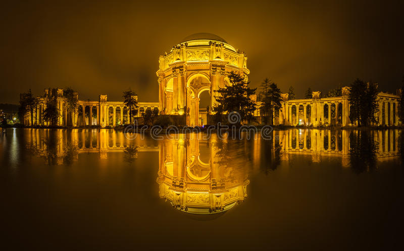 Paleis van Beeldende kunsten & Gouden Hemel royalty-vrije stock foto's