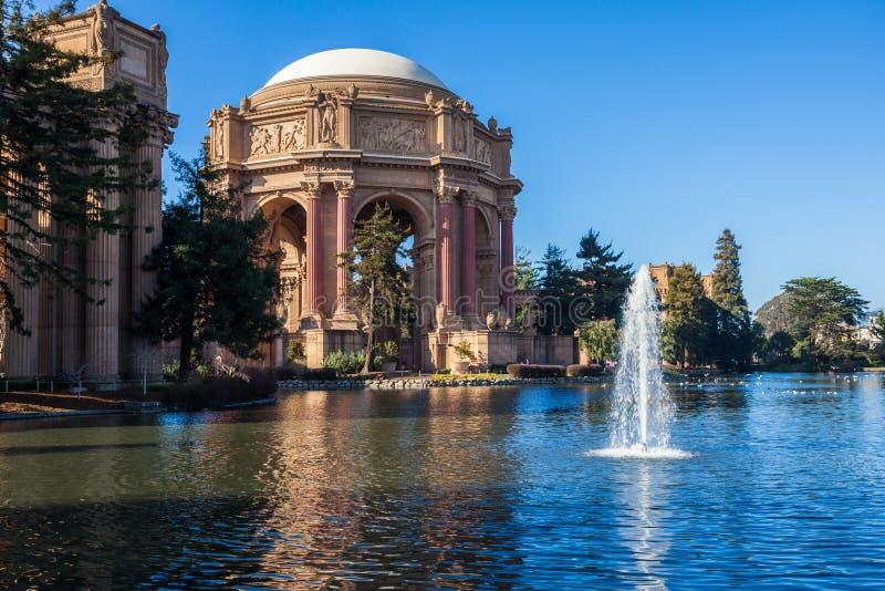 Paleis van Beeldende kunsten in San Francisco royalty-vrije stock foto