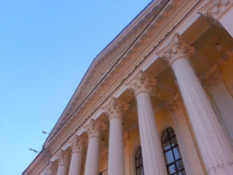 Paleis van Cultuur stock afbeelding