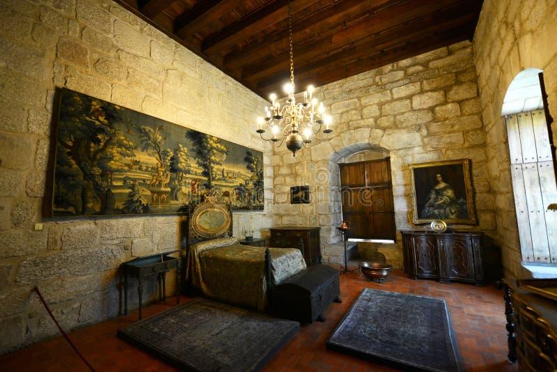 Paleis van de Hertogen van Braganza, Guimarães, Portugal royalty-vrije stock foto's