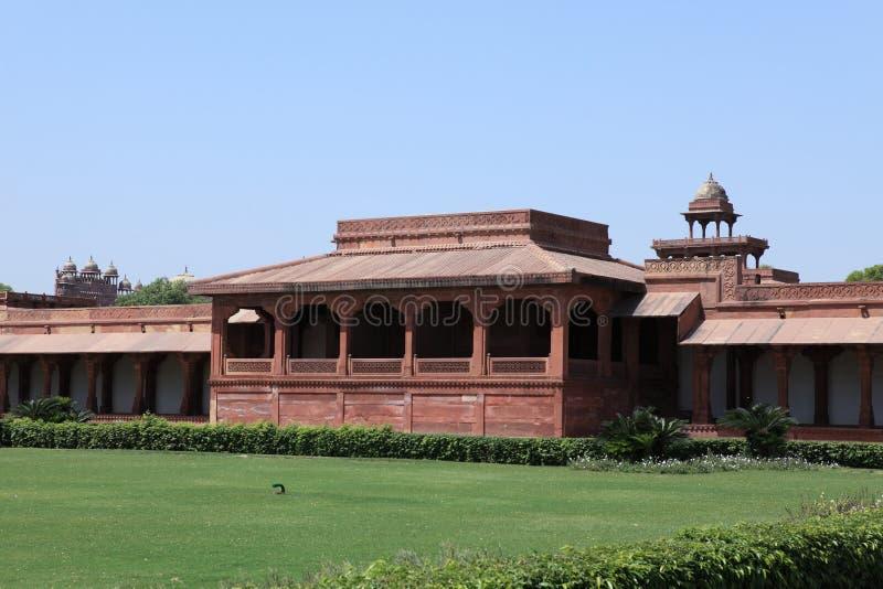 Paleis van Fatehpur in India royalty-vrije stock afbeelding