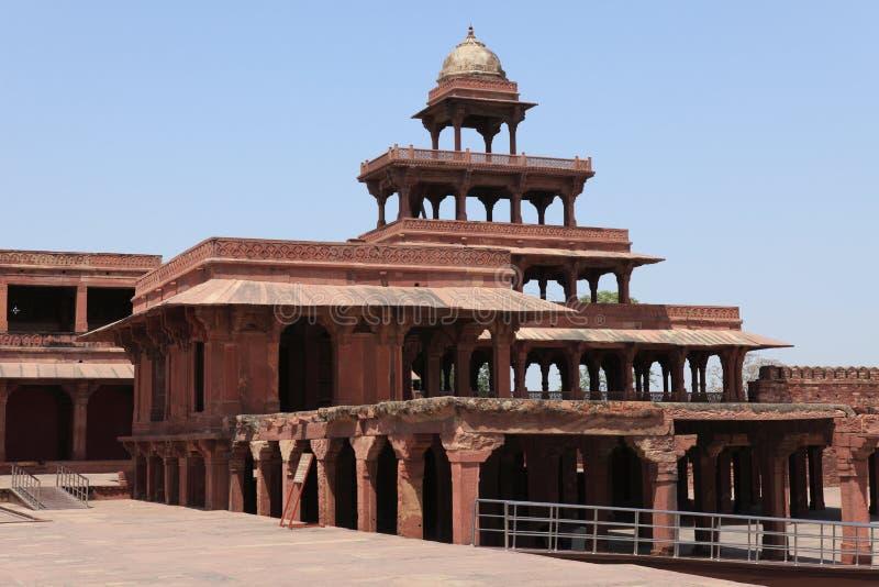 Paleis van Fatehpur in India royalty-vrije stock foto
