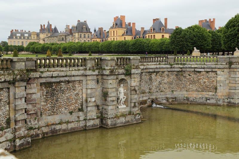 Paleis van Fontainebleau royalty-vrije stock foto