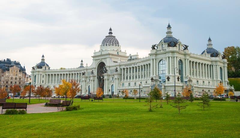Paleis van Landbouwers in Kazan stock fotografie