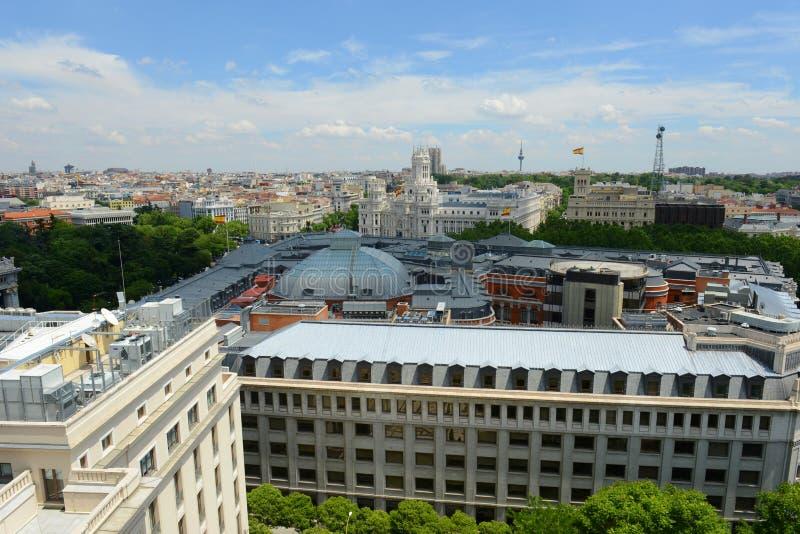 Paleis van Mededeling, Madrid, Spanje royalty-vrije stock foto