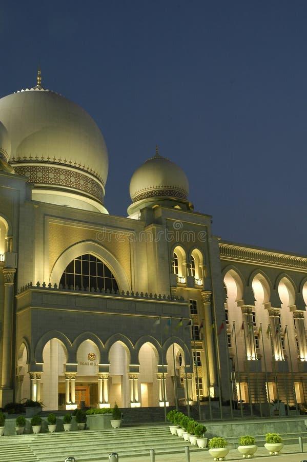 Paleis van Rechtvaardigheid, Putrajaya royalty-vrije stock afbeeldingen
