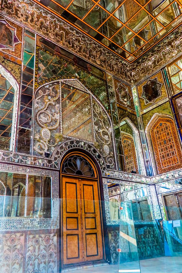 Paleis 03 van Teheran Golestan royalty-vrije stock fotografie