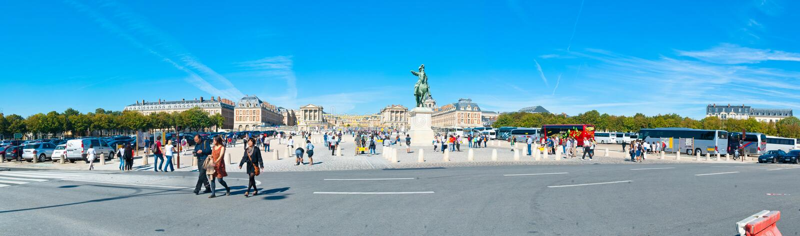 Paleis van Versailles royalty-vrije stock foto