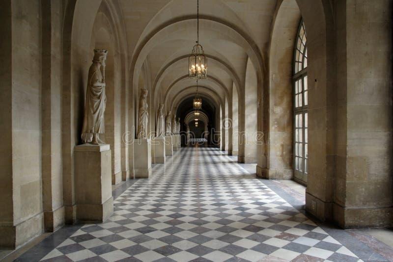 Paleis van Versailles stock foto
