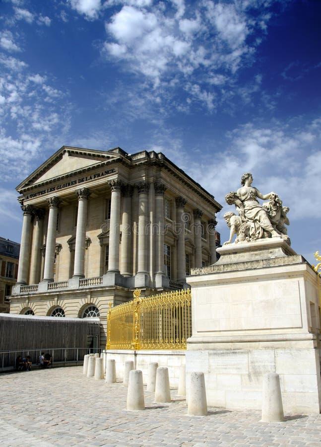 Paleis van Versailles, Parijs stock foto's