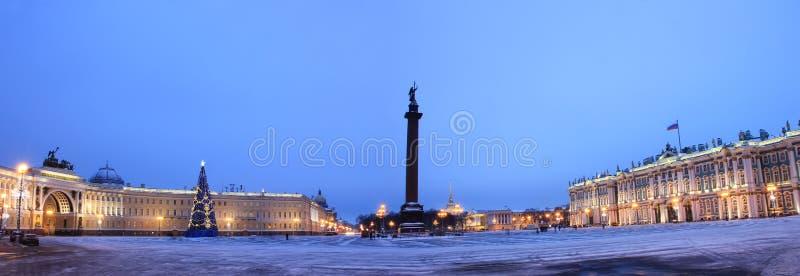 Paleisvierkant, St Petersburg, Rusland royalty-vrije stock foto