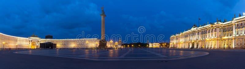 Paleisvierkant, St Petersburg, Rusland stock foto's
