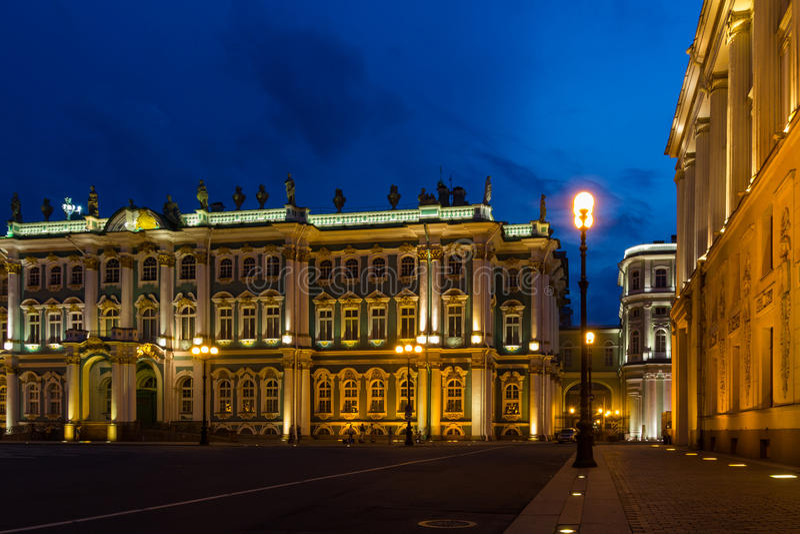 Paleisvierkant, St Petersburg, Rusland royalty-vrije stock fotografie