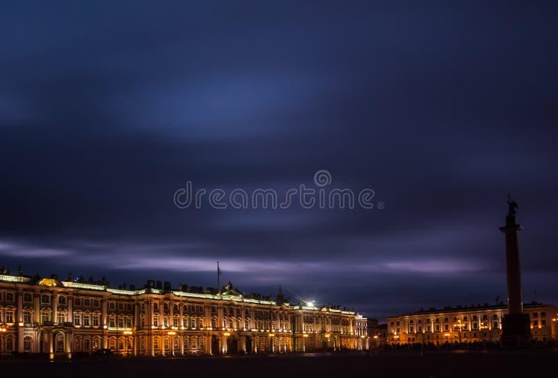 Paleisvierkant, St Petersburg, Rusland royalty-vrije stock afbeelding