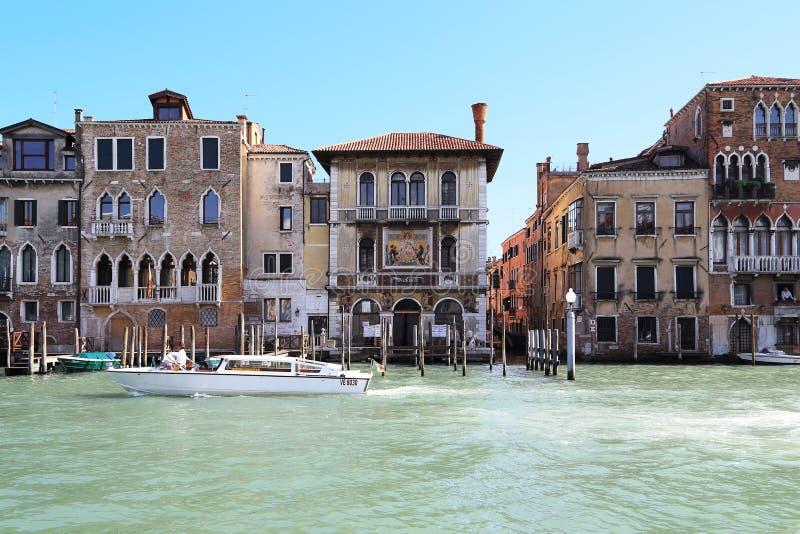 Paleizen Grand Canal, Venetië royalty-vrije stock afbeelding