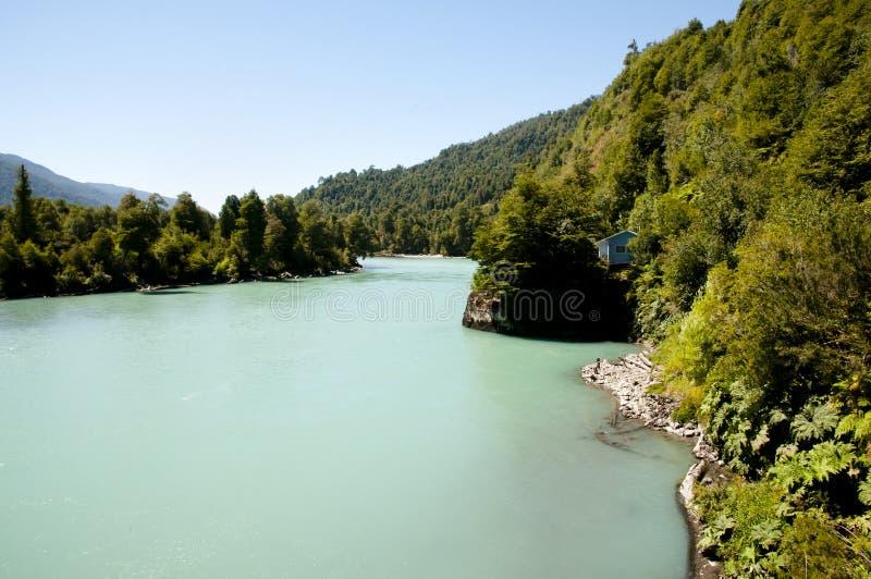 Palena River - Corcovado National Park - Chile. Palena River in Corcovado National Park - Chile stock photos