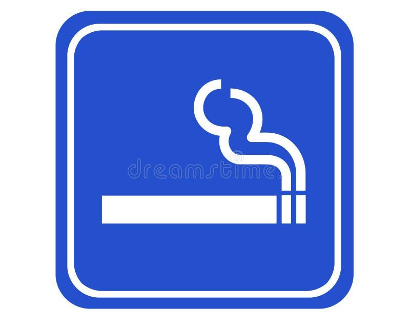 palenie strefy ilustracja wektor