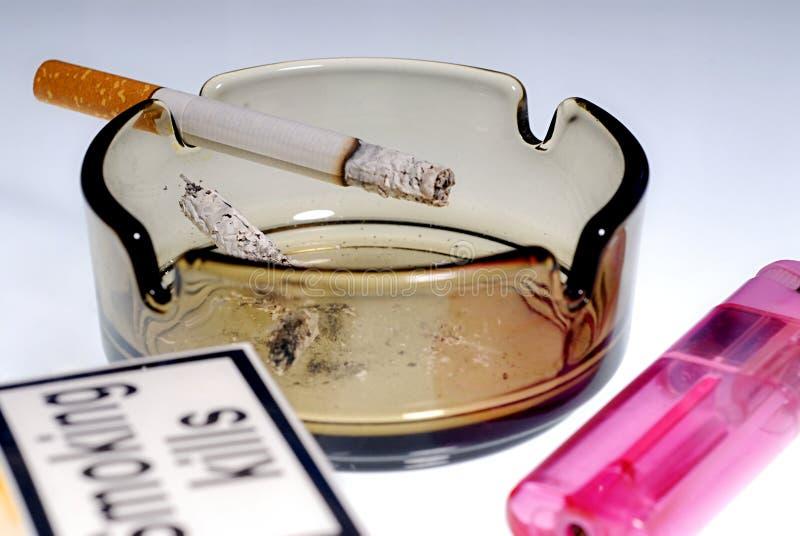 palenie zabija fotografia stock