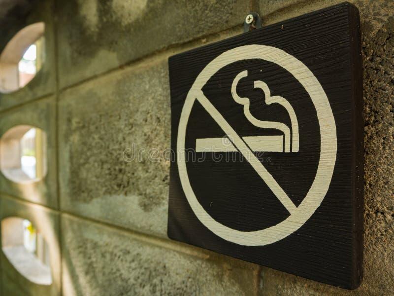 Palenie zabronione śpiewa obrazy stock