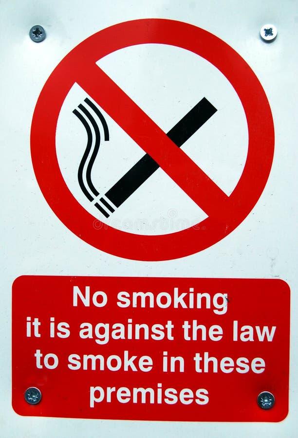 Palenie zabronione znak zdjęcie royalty free