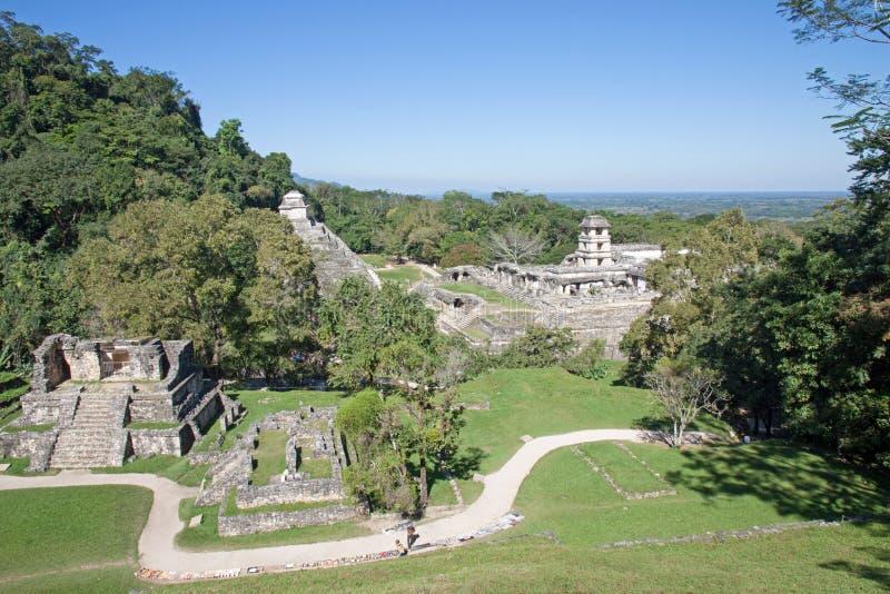 Palenque, Μεξικό στοκ φωτογραφίες με δικαίωμα ελεύθερης χρήσης