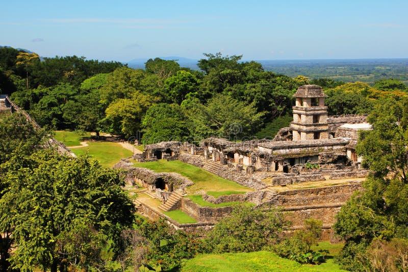 Palenque Chiapas, Mexico arkivfoto