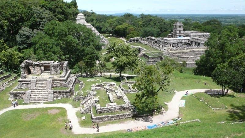 Palenque, Chiapas, Mexico. Pre-Hispanic City and National Park of Palenque, Chiapas, Mexico stock photo