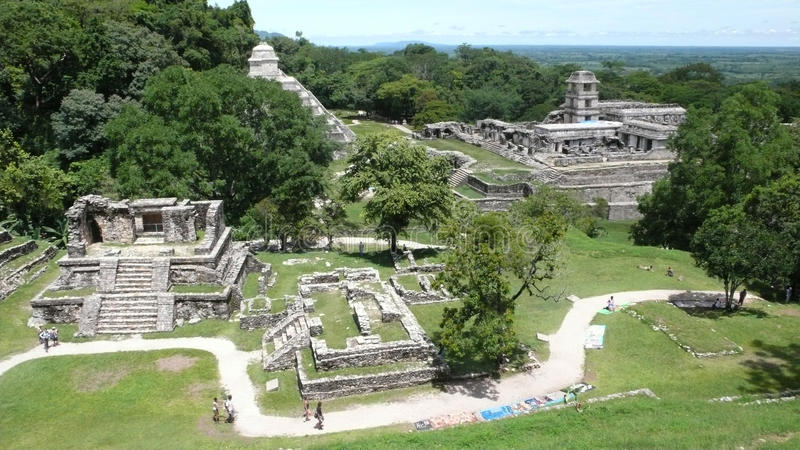 Palenque, Chiapas, Mexique photo stock
