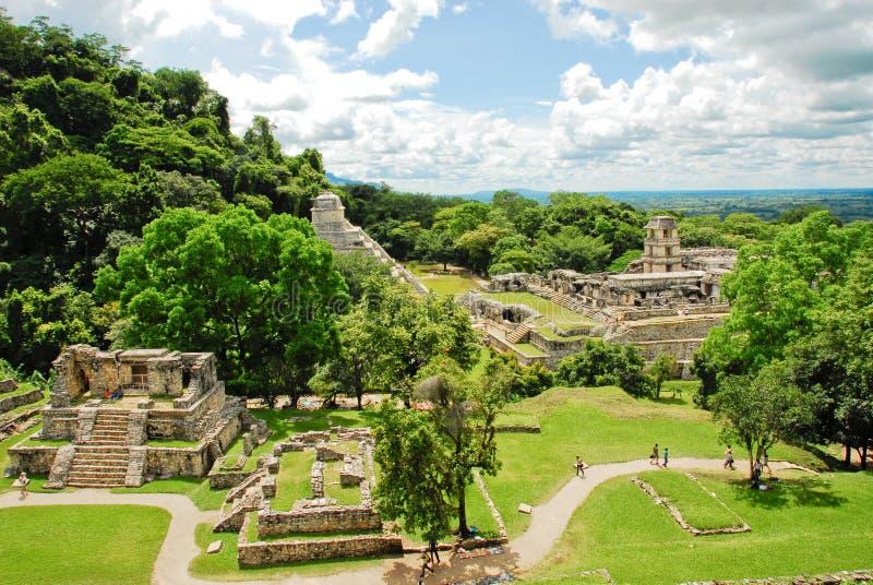 Palenque gruppkors royaltyfri bild