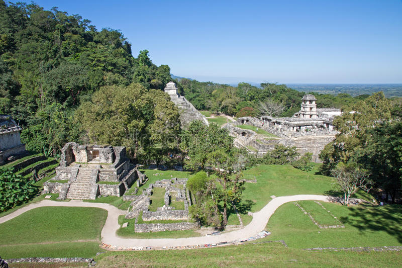 Palenque, Meksyk fotografia stock