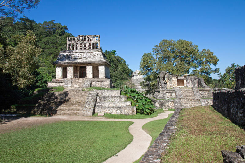 Palenque, Mexico royalty free stock photo