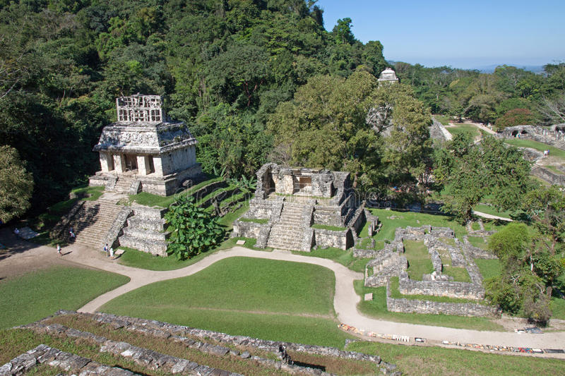 Palenque, Mexico stock images