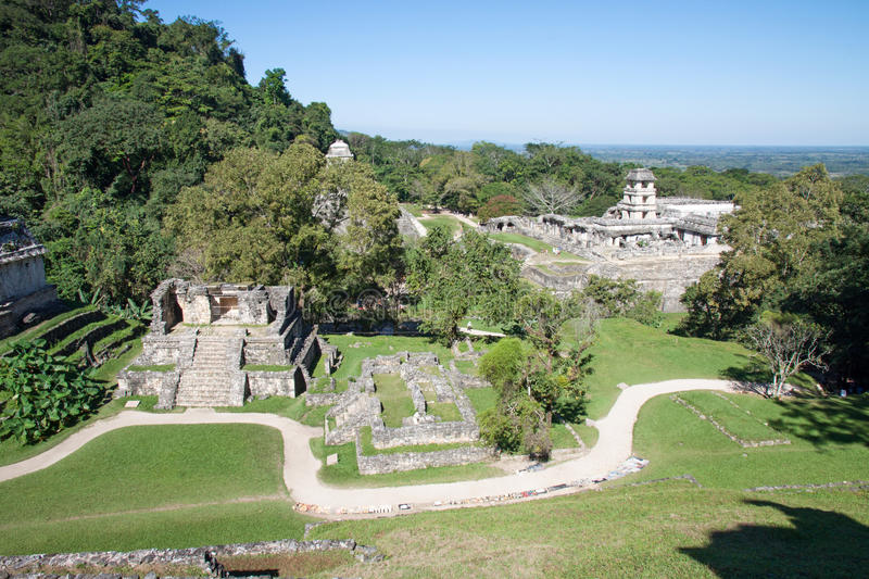 Palenque, Mexico royalty free stock image