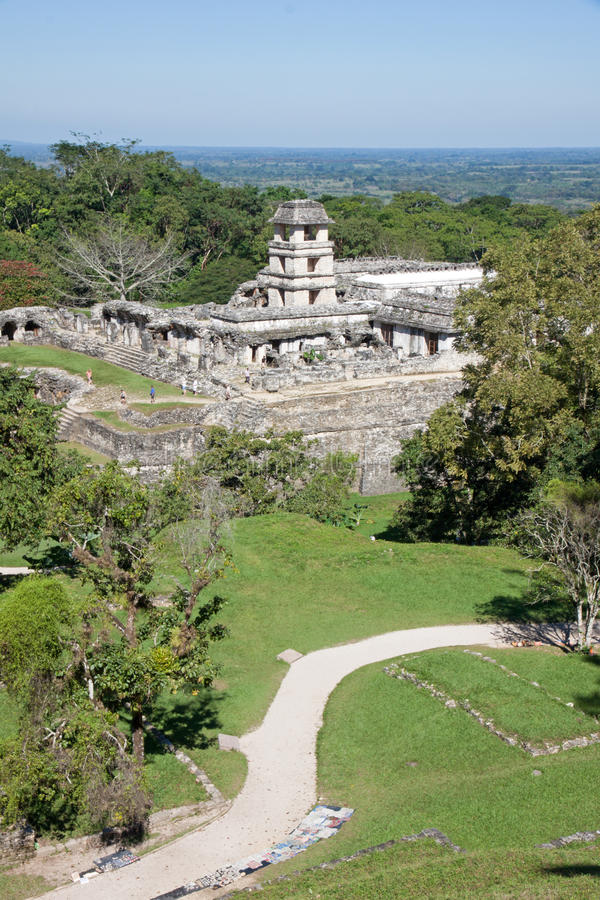 Palenque, Mexique photographie stock