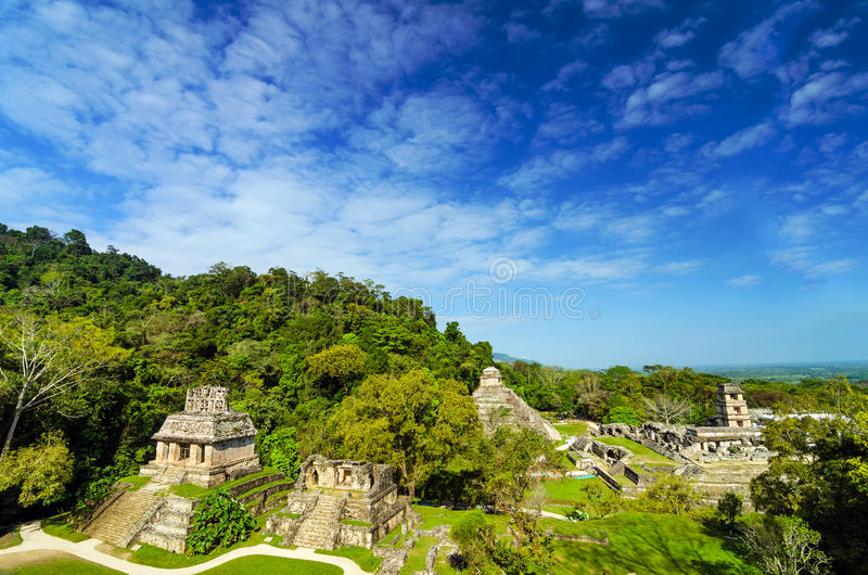 Palenque View stock images