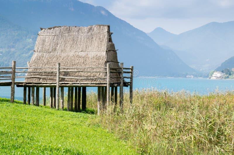 Paleolithic куч-жилище стоковые фото