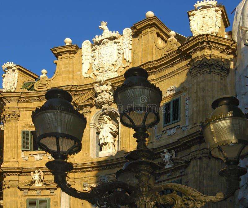 In Palermo stock afbeeldingen
