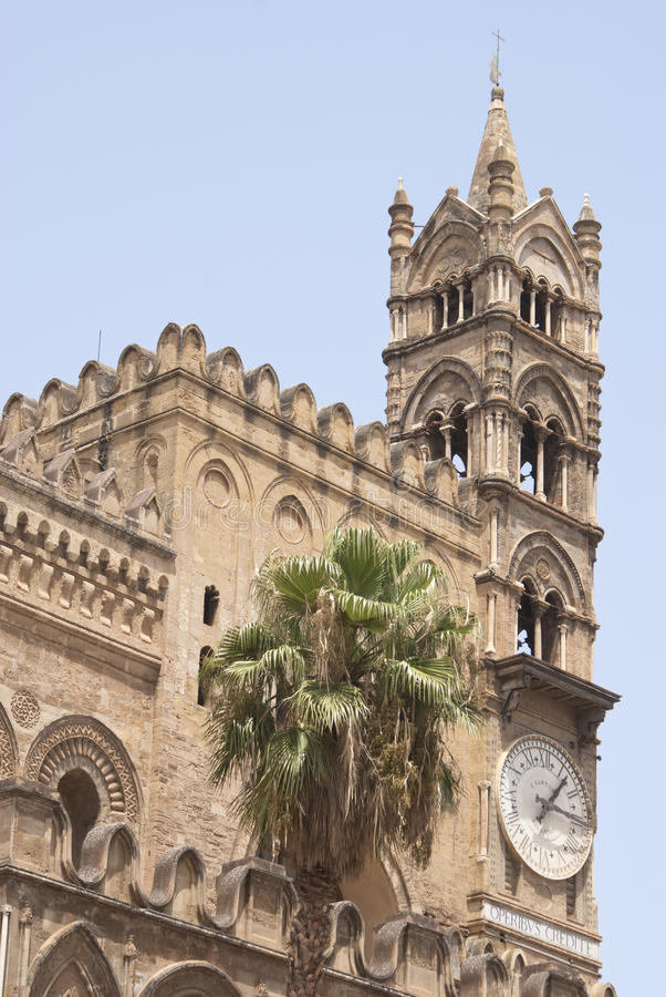Download Palermo Cathedral stock photo. Image of holiday, appearance - 27038638