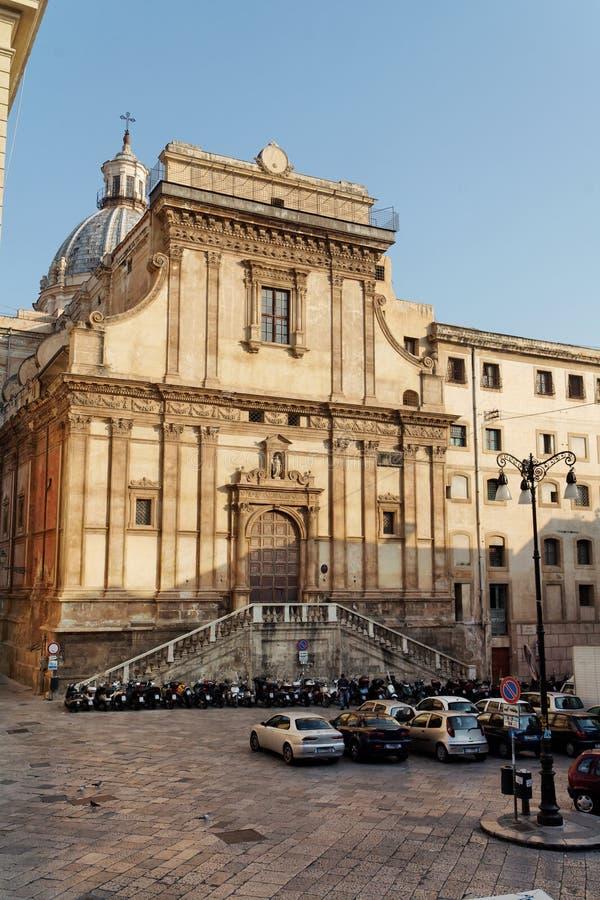 Palermo catherine Włochy świętego kościoła Sycylia fotografia royalty free