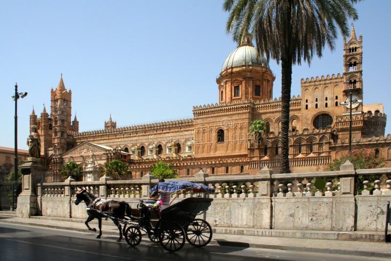 Palermo katedralny zdjęcie royalty free