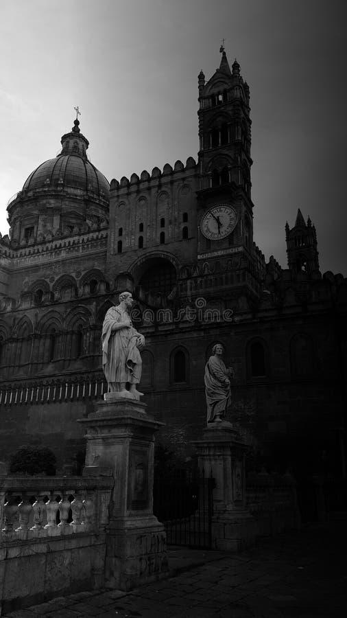 Palermo katedralny obrazy stock