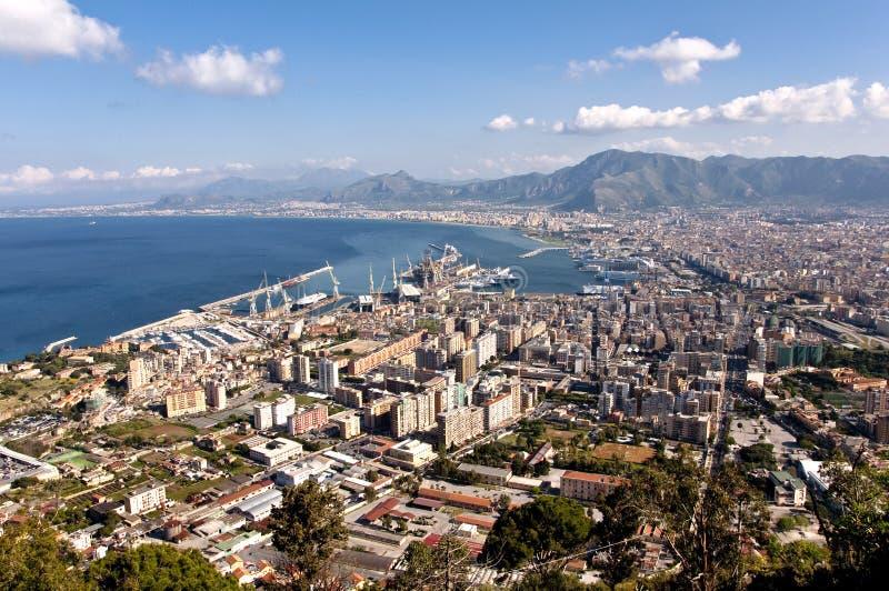 Palermo-Landschaft lizenzfreie stockfotos