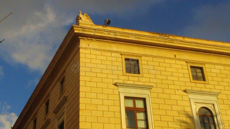 Palermo Palazzo Delle Aquile imagem de stock royalty free