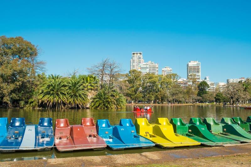 Palermo parki, Buenos Aires fotografia stock