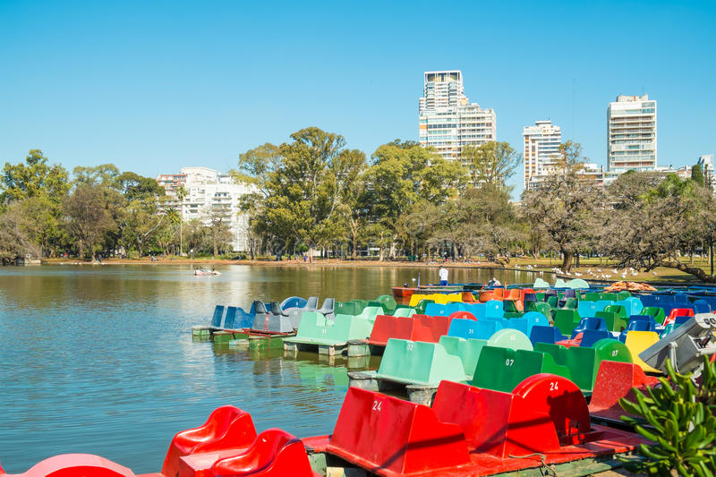 Palermo parks, Buenos Aires royalty free stock photos