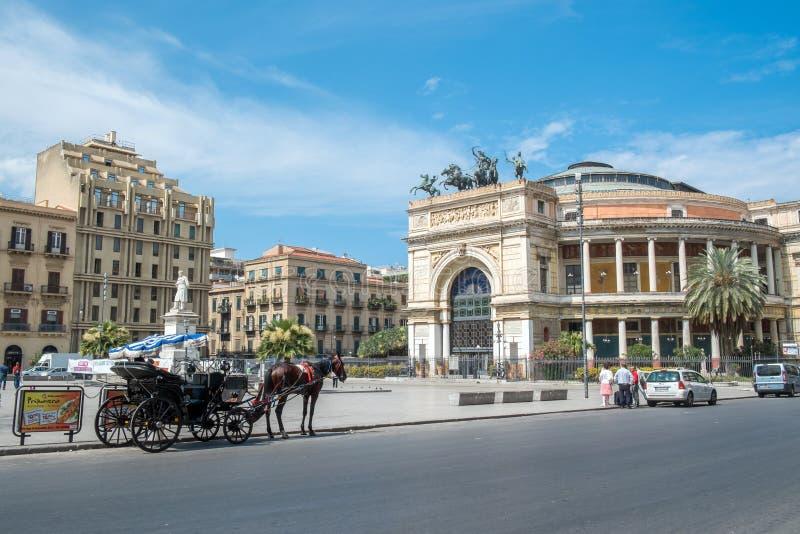 Palermo, Sicilië royalty-vrije stock foto