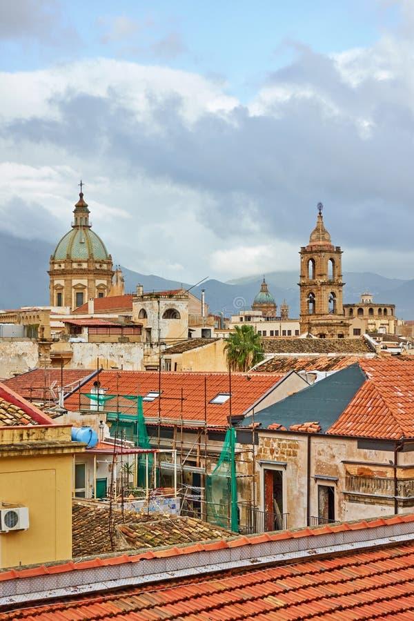 Palermo in Sicilia fotografie stock
