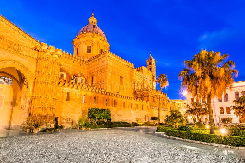 Palermo, Sicily, Italy. Norman Cathedral royalty free stock images