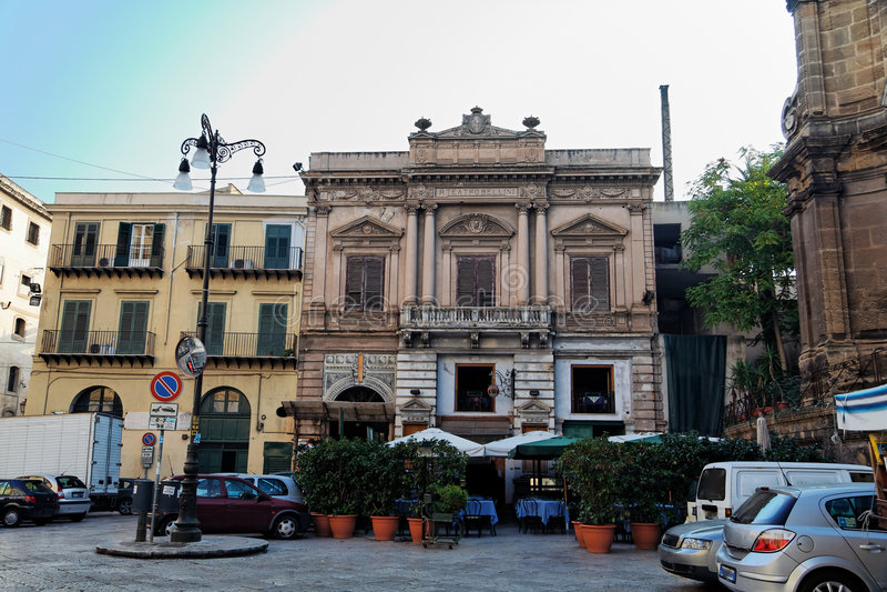 Palermo van de binnenstad royalty-vrije stock fotografie