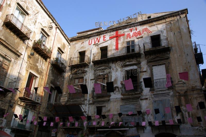 Palermo vucciria obraz stock
